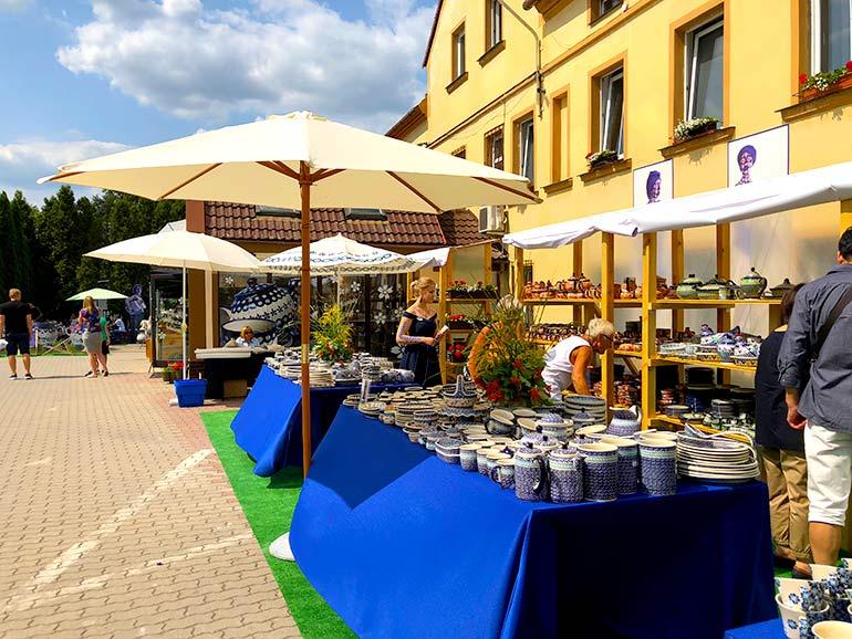街を上げて開催されるボレスワヴィエツ食器祭り