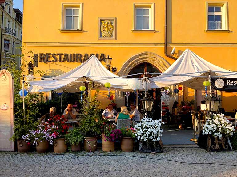 ボレスワヴィエのレストラン Restauracja Pod Złotym Aniołem