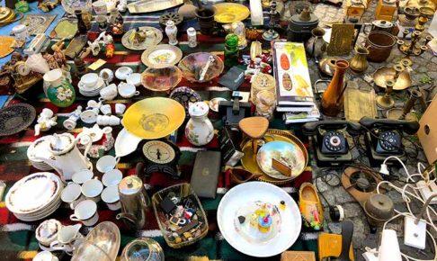 陶器祭の時に開催されていたマーケット