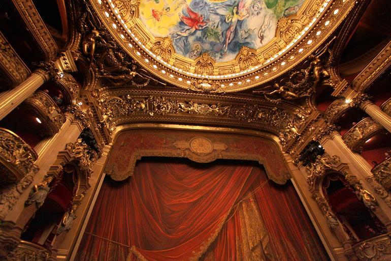 パリのPalais Garnier(オペラ座)